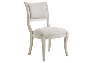 Eastport Side Chair, Light Gray