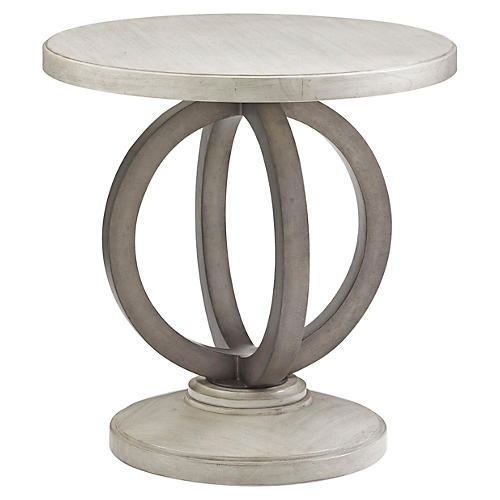 Hewlett Side Table, Oyster