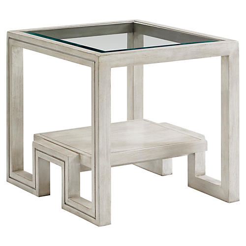 Harper Side Table, Oyster