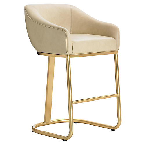 Astoria Barstool, Cream