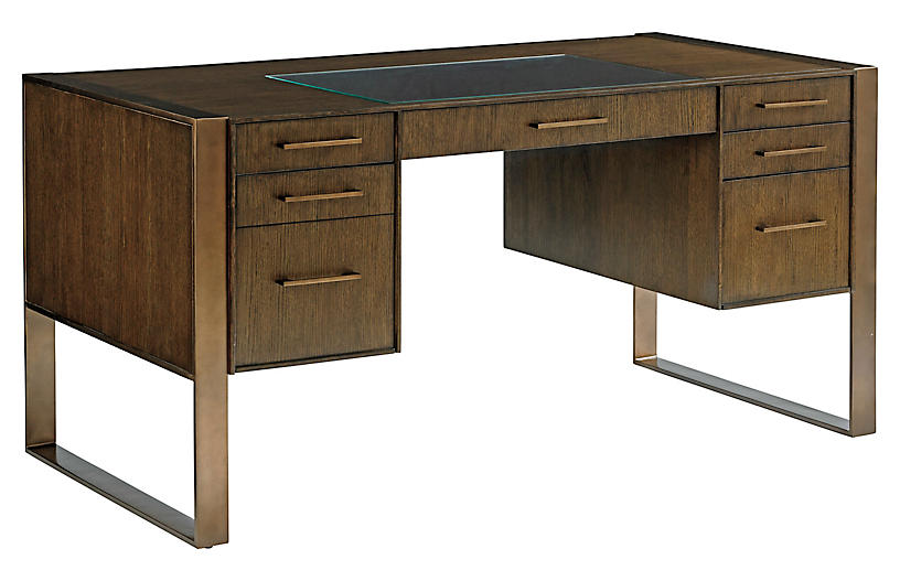 Structure Writing Desk, Mocha