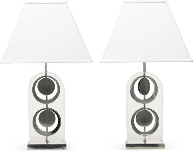 American Table Lamps, Pair