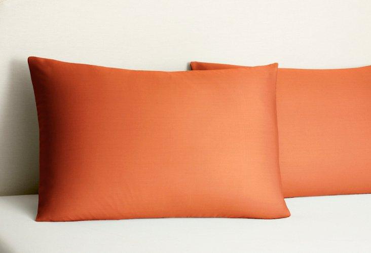 S/2 Bamboo Dreams  Pillowcases, Sienna