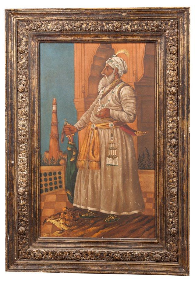 Large Maharajah Portrait