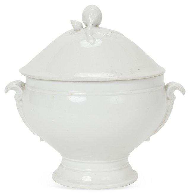White Porcelain Tureen