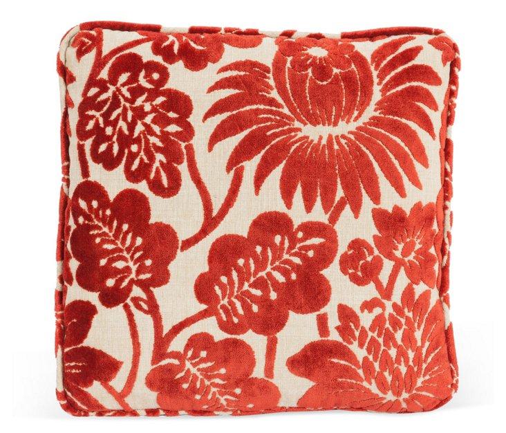 Red Velvet Cushion II