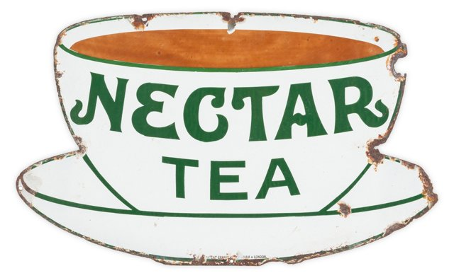 Nectar Tea Sign