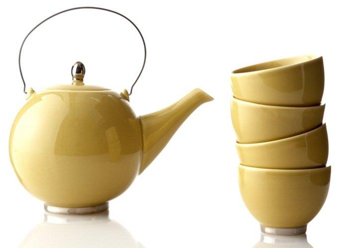 5-Pc Porcelain Japanese Tea Set