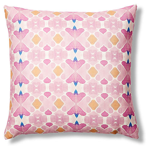 Casablanca 20x20 Pillow, Pink