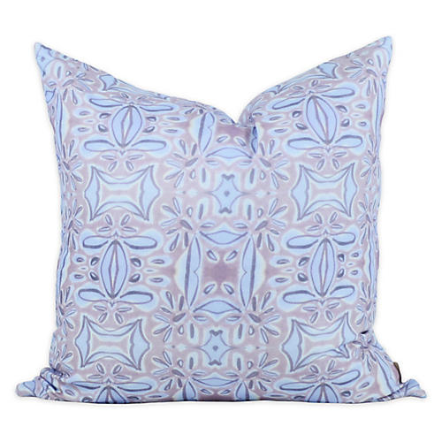 French Blossom 20x20 Pillow, Purple