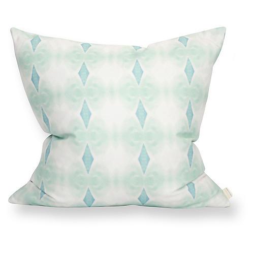 Santa Cruz 20x20 Pillow, Blue
