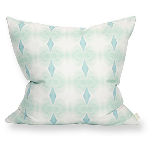 Santa Cruz 20x20 Pillow, Blue