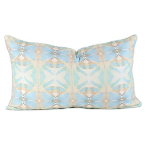 Seascape 12x20 Lumbar Pillow, Green