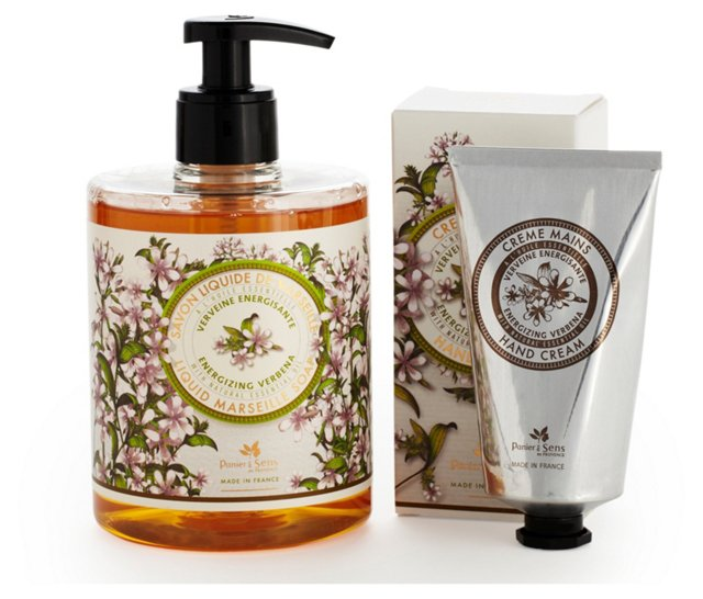 Soap & Hand Cream Set, Verbena