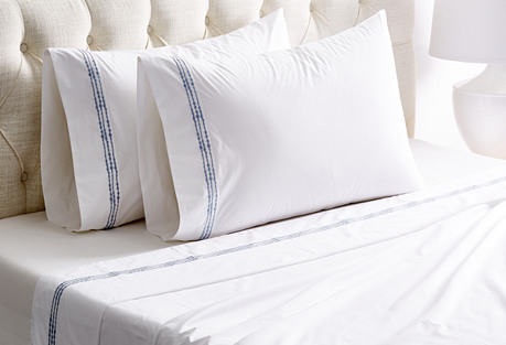 Aedre Sheet Set, Ice Blue