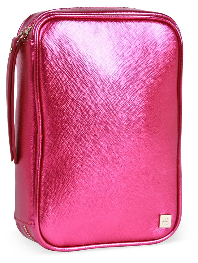 Northern Lights Cosmetic Case, Magenta