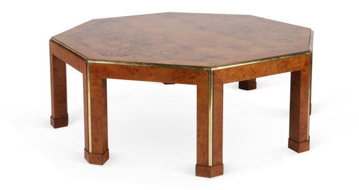 Octagonal Baker Coffee Table