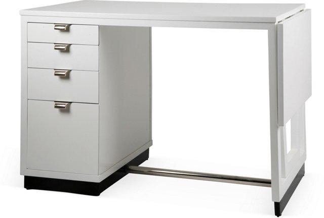 Drexel Wood Lacquered Desk