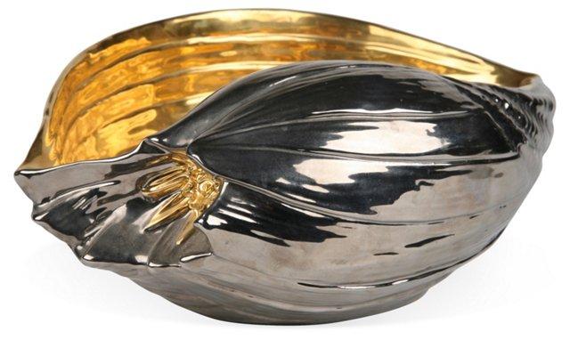 Italian Metallic Seashell