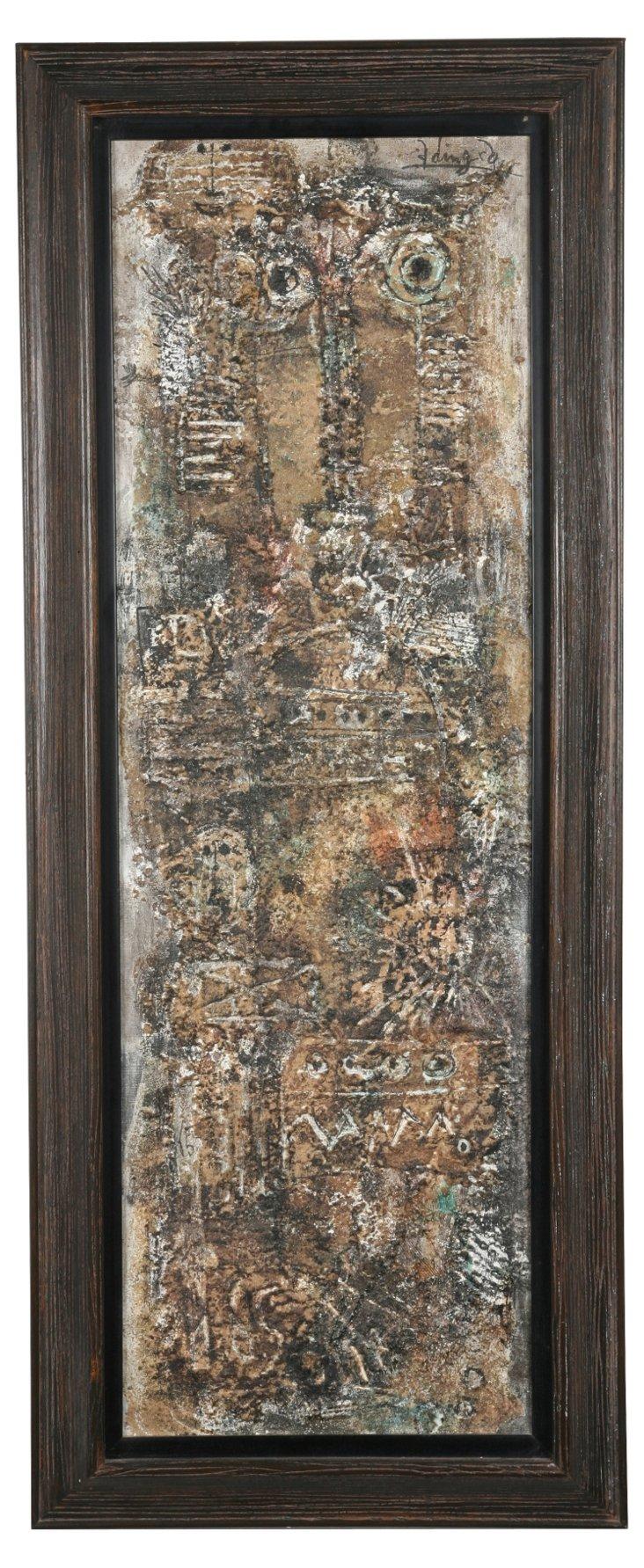 Georges Ebrin Adingra Painting I