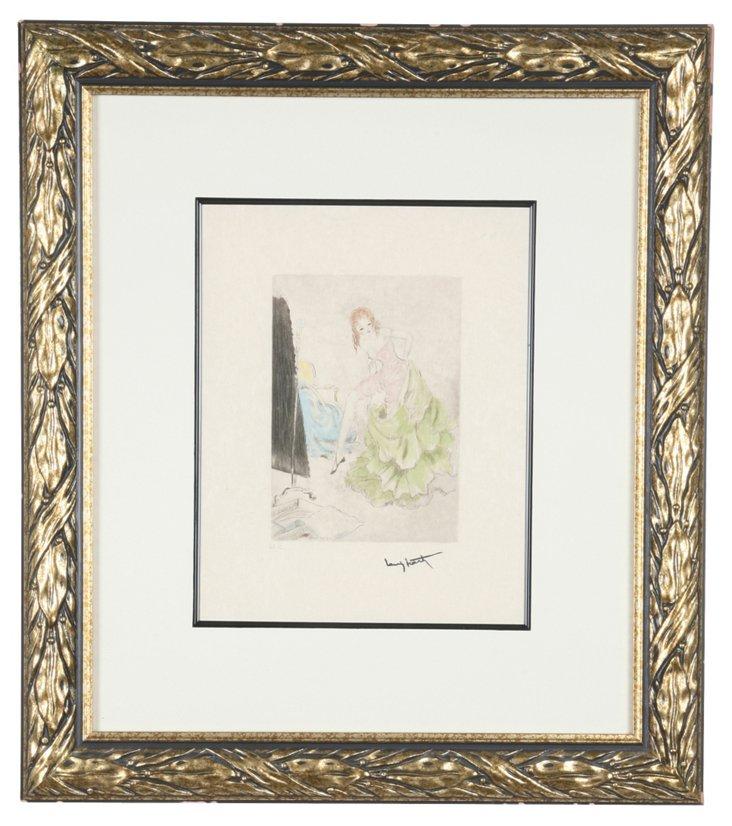 Louis Icart Print I