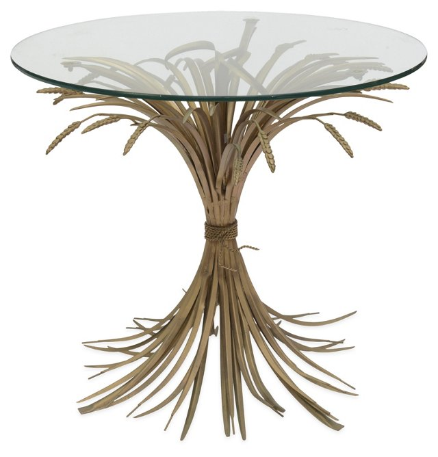 Tall Wheat Sheath Table