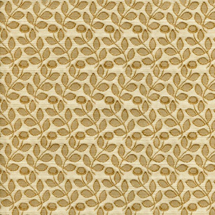 Wild Flowers Fabric, Tan