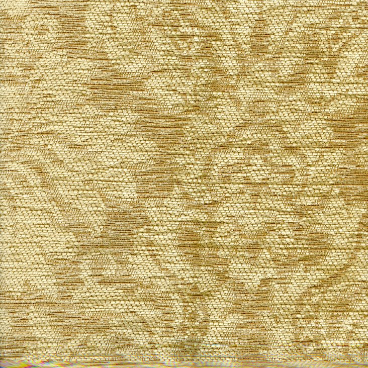 Damask Fabric, Gold