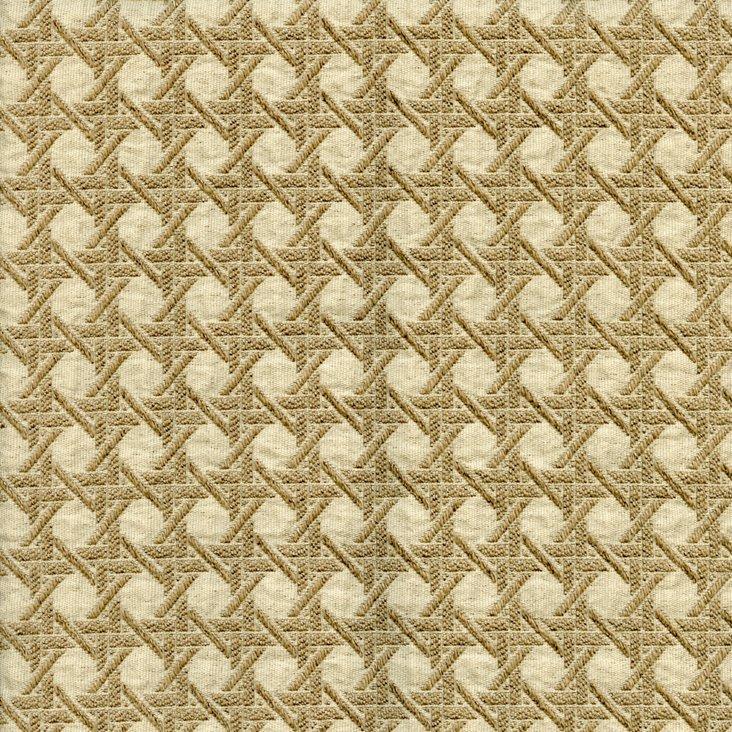 Crosshatch Fabric, Tan
