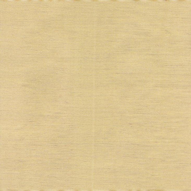 Brushed Linen/Silk Fabric, Gold