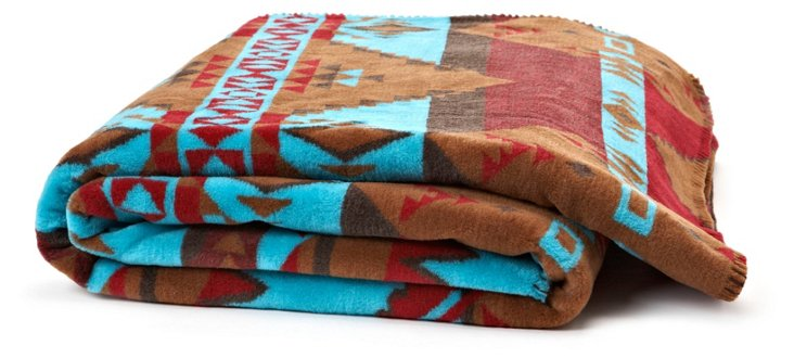 Native Journey Throw, Taupe
