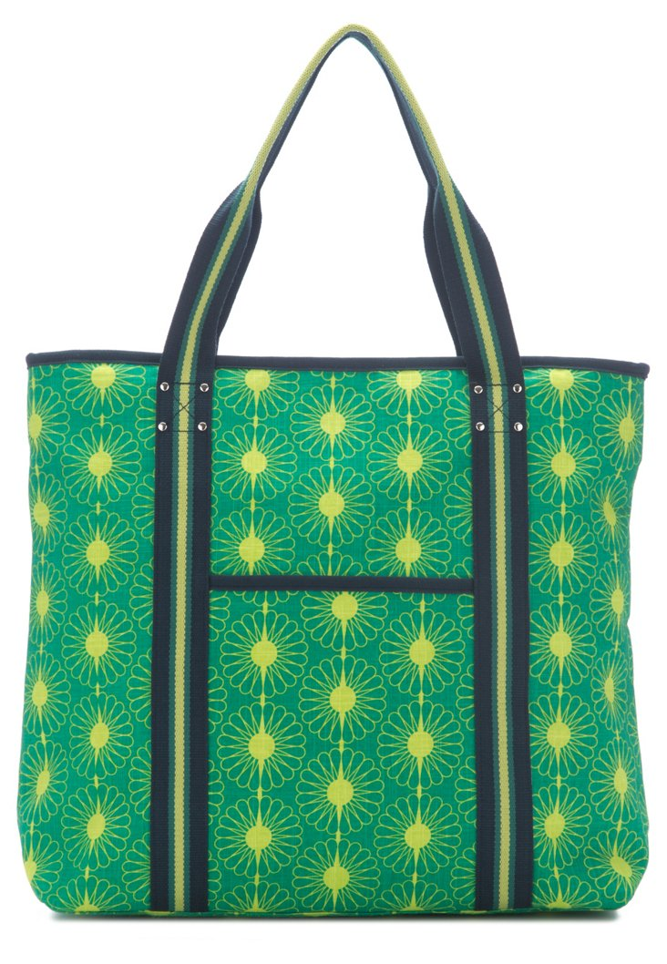 Large Tote, Green