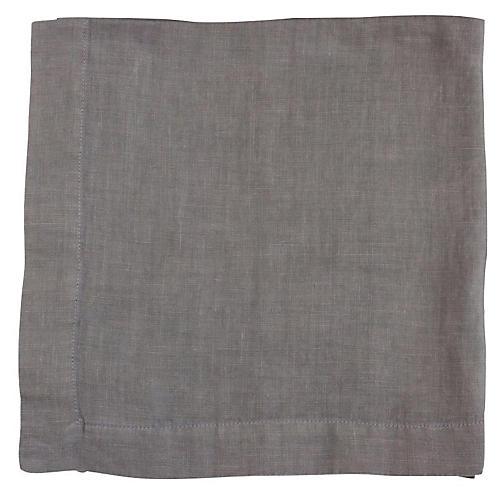 HG Linen Napkin, Asphalt
