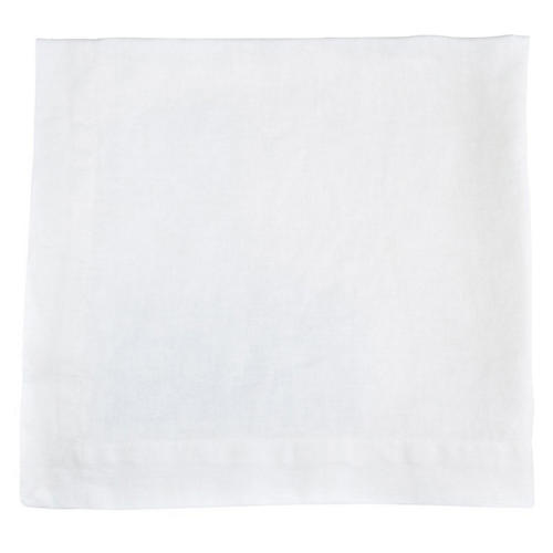 HG Linen Napkin, White