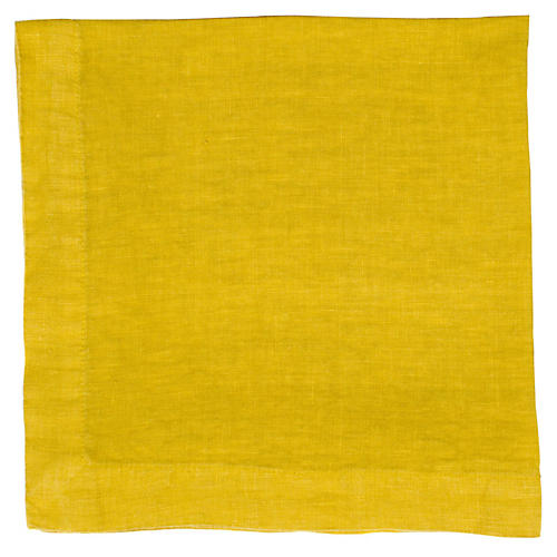 HG Linen Napkin, Golden Rod