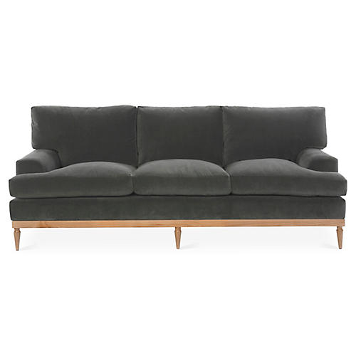 Sutton Sofa, Graphite