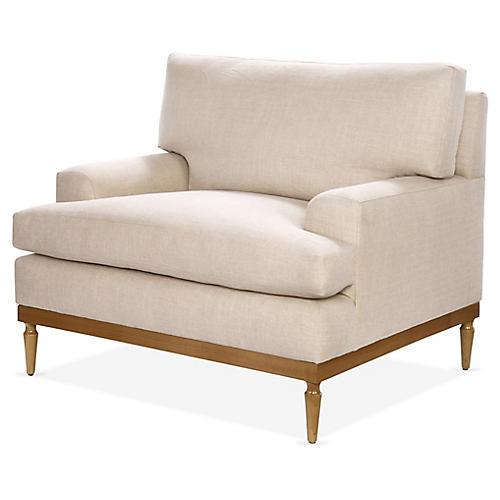 Sutton Club Chair, Blush