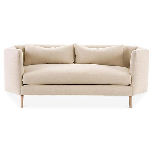 Blythe Sofa, Blush Crypton