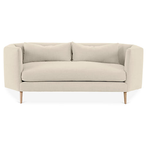Blythe Sofa, Bisque Linen