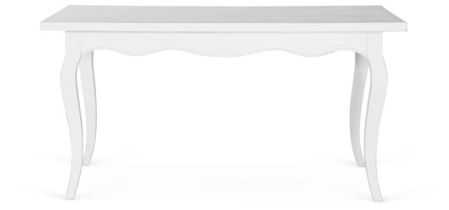 Tulip Dining Table, White