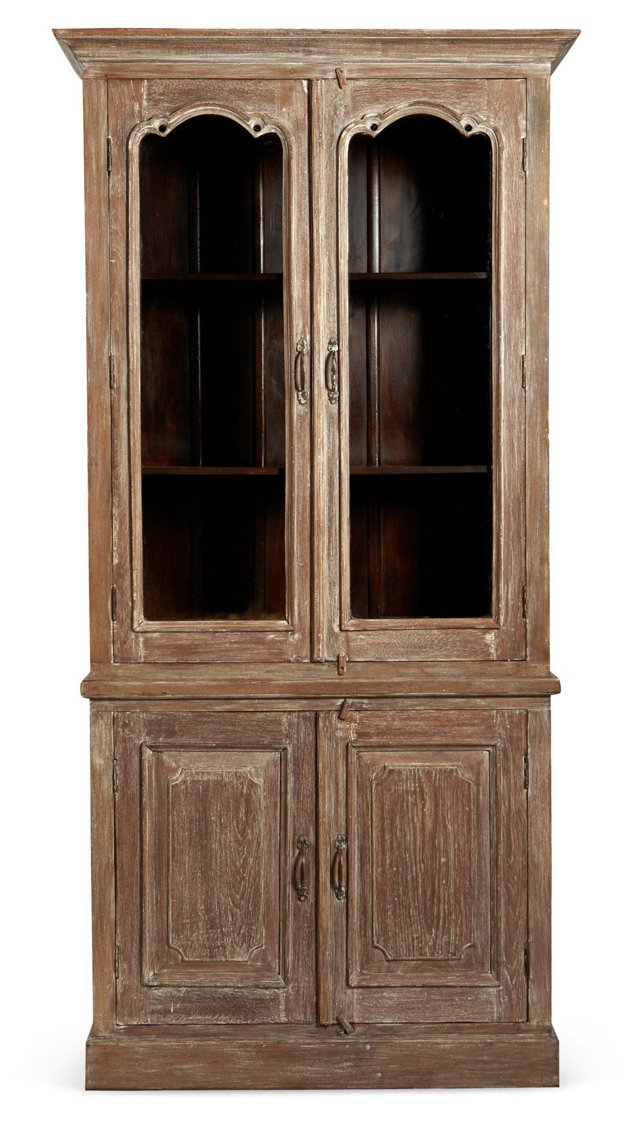 Iris Cabinet, Distressed Natural