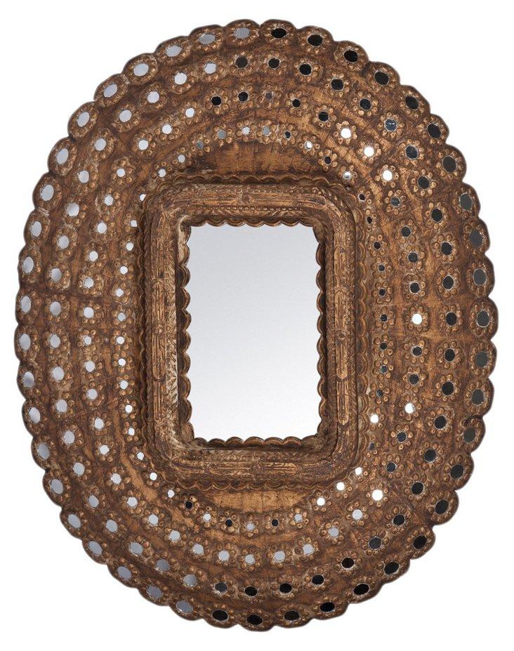 Rosaleen Mirror, Bronze