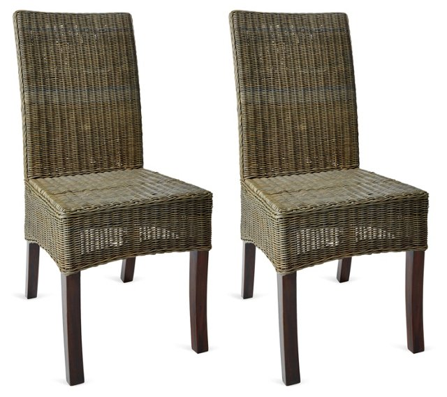 Sage Innit Dining Chairs, Pair