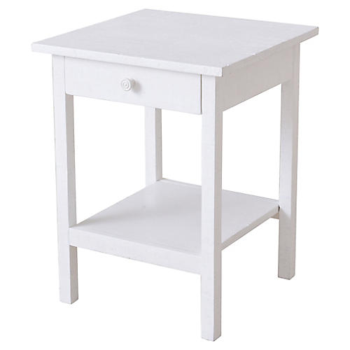 Heathcliff Nightstand, White