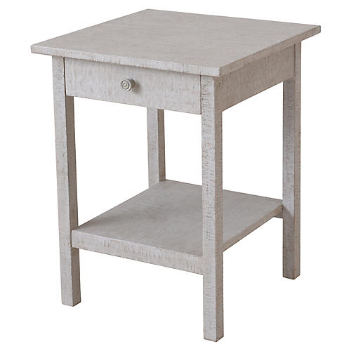 Heathcliff Nightstand, Graywash