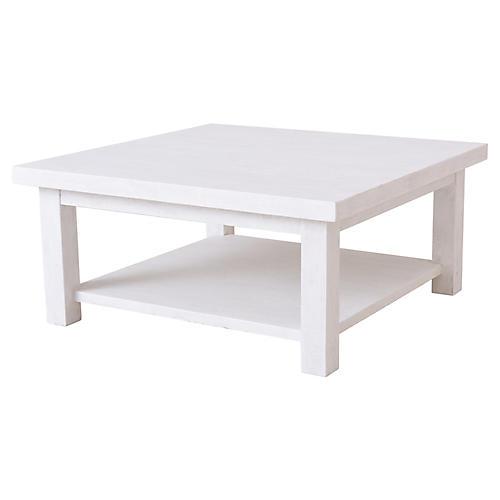 Heathcliff Coffee Table, White