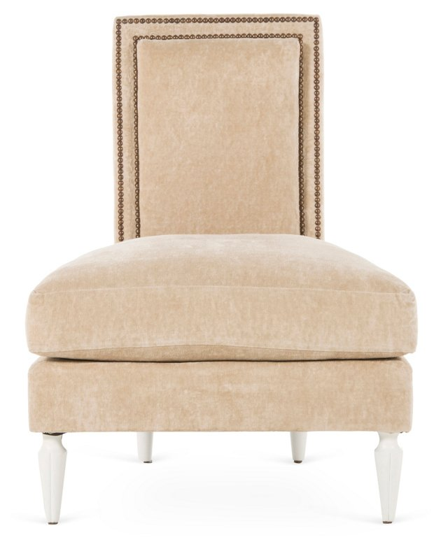 Duncan Lounge Chair, Sand