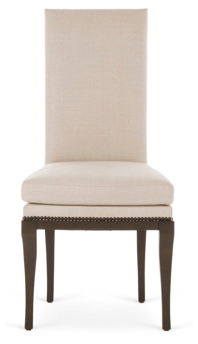 Malcolm Side Chair, Parchment