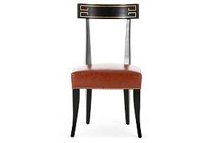 Zelia Side Chair, Chestnut