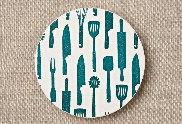 S/20 Kitchen Utensils Coasters